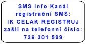SMS infokanal