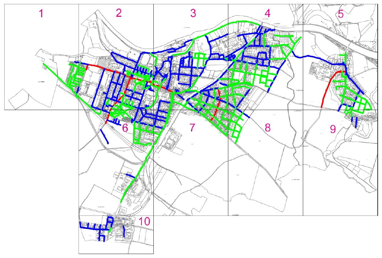 mapa místních komunikací